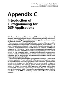 Introduction of C Programming for DSP Applications